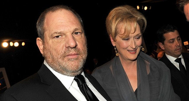 This file photo taken on January 28, 2012 shows Producer Harvey Weinstein (L) and actress Meryl Streep attending the 18th Annual Screen Actors Guild Awards at The Shrine Auditorium in Los Angeles, California. (AFP Photo)