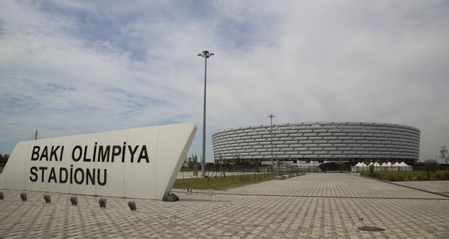 UEFA president defends decision to play Europa League final in Baku