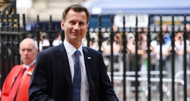 Jeremy Hunt arrives at Westminster Abbey for a service to mark seventy years of the NHS in London, Britain, 05 July 2018. (EPA Photo)