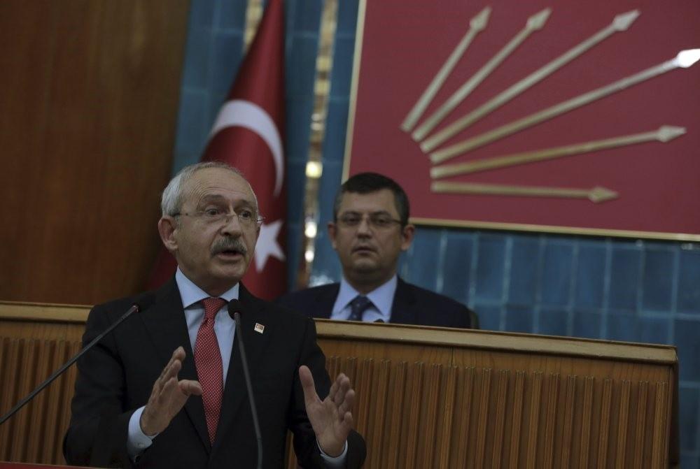 Republican People's Party (CHP) leader Kemal Ku0131lu0131u00e7darou011flu