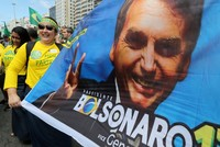 Bolsonaro says Brazil 'at war,' intends to use army to fight violence