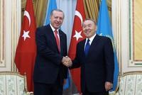 Erdoğan calls Kazakh President Nazarbayev on birthday