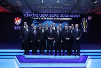 Turkey's football authorities confirmed yesterday the country was bidding to host the Euro 2024 football tournament, which would be the biggest sporting event it has ever held.