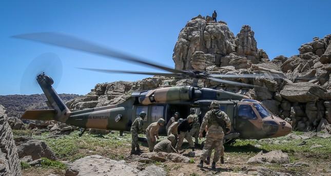 الجيش التركي يعلن تحييد 3 إرهابيين شمالي العراق