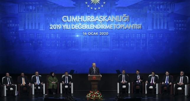 أردوغان يستعرض الإنجازات التي حققتها بلاده خلال2019