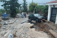 Torrential rains cause flash floods in Northern Cyprus, killing 4