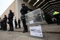 Spanish authorities hunt 6,000 hidden ballot boxes in bid to foil Catalonia referendum