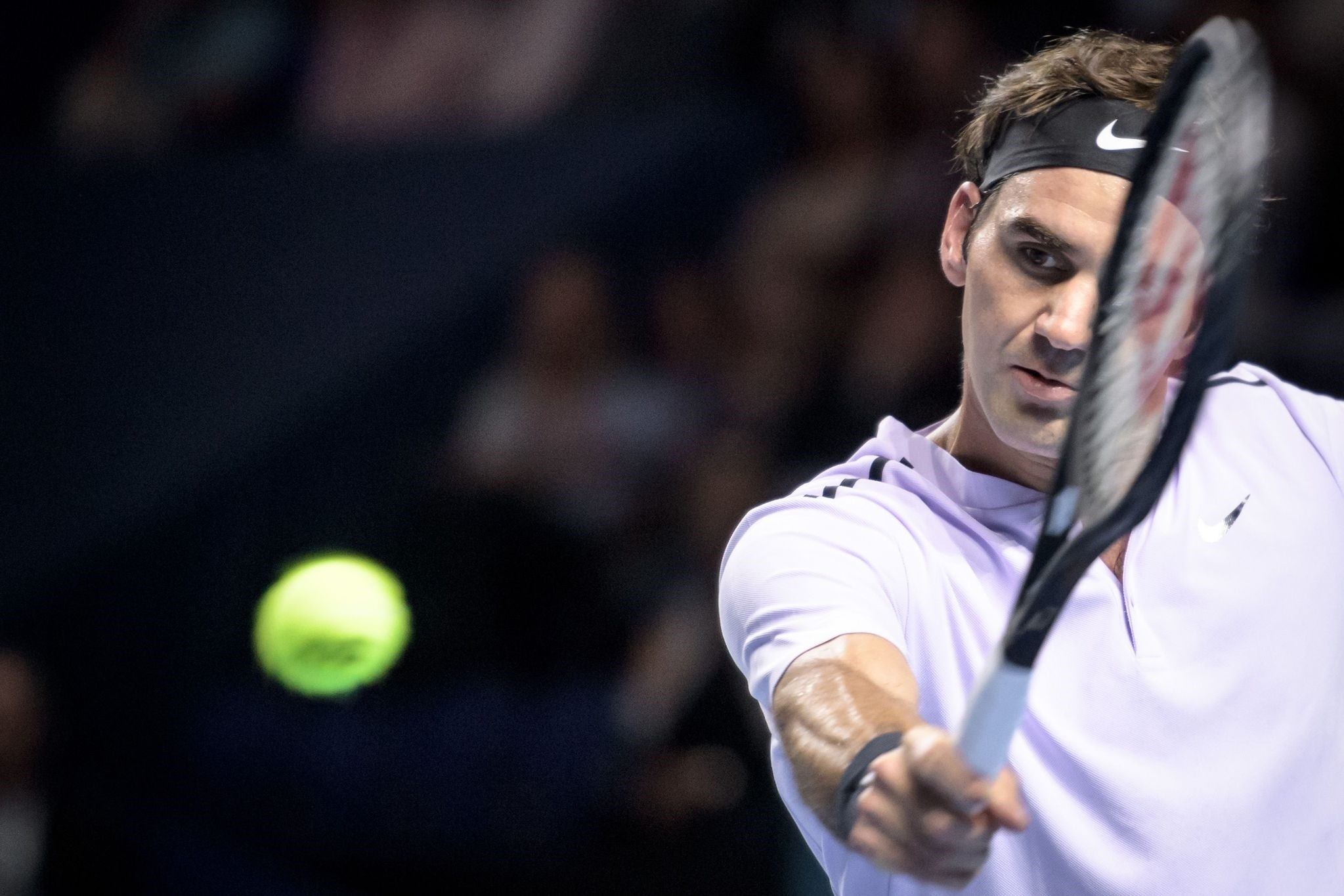 Federer will move down to London to prepare for the eight-man ATP Finals starting on Sunday.