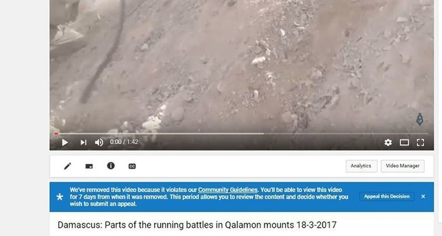 Activists fear YouTube content policy might erase Syrian civil war history, war crime evidence