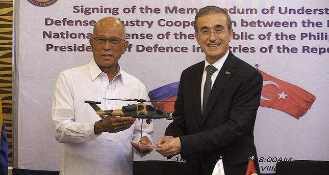 Turkey Philippines Sign Defense Memorandum Daily Sabah