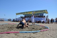 Muğla Youth Services and Sports Department Chairman Serkan Öçalmaz said Wednesday that this year's World Beach Wrestling Championships will be held on Oct. 13-15 at the İztuzu beach, known more for...