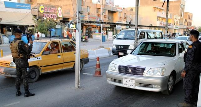 دورية للشرطة العراقية في بغداد رويترز