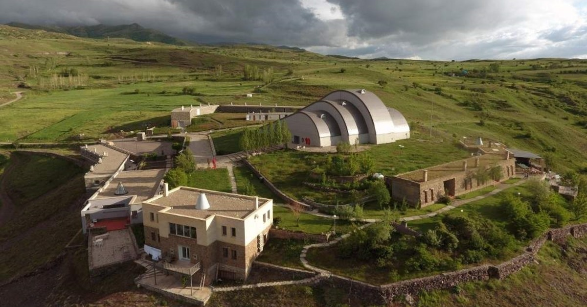 The Baks? Museum is located on a hill 45 kilometers away from Bayburt province.