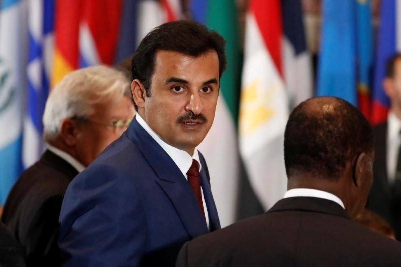 Qatari Emir Sheikh Tamim bin Hamad Al Thani (Reuters Photo)