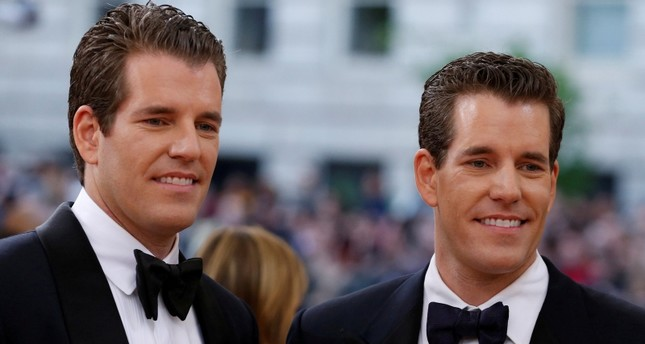 Entrepeneurs Tyler and Cameron Winklevoss arrive at the Metropolitan Museum of Art Costume Institute Gala (Met Gala) in New York on May 2, 2016. (Reuters)
