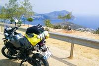 Riding across Turkey on two wheels