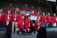 Konya Technical University team wins high-altitude rocket race at Teknofest Istanbul