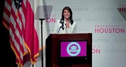 Texas uni students slam US envoy over Israeli violence