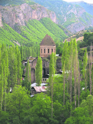 Oshki Monastery.