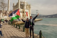 Swedish activist to complete 5,000-km walk to Palestine on Thursday