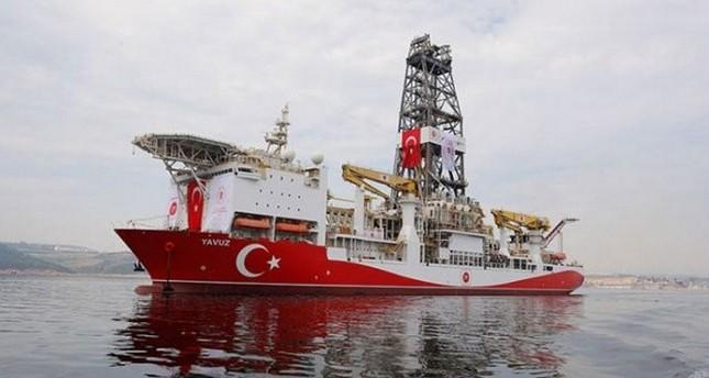 سفينة ياووز التركية تبدأ أعمال التنقيب في المتوسط