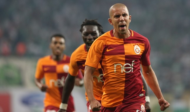 Subbed in the 64th minute, Sofiane Feghouli scored his first goal in the league.
