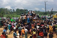 A fatal Red Cross truck accident that killed nine in Bangladesh Thursday and attacks by a Buddhist mob in Myanmar on an aid shipment Wednesday have severely hampered aid delivery to the Rohingya...
