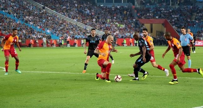 طرابزون يحقق مفاجأة بفوز كبير على غلاطة سراي متصدر الدوري التركي