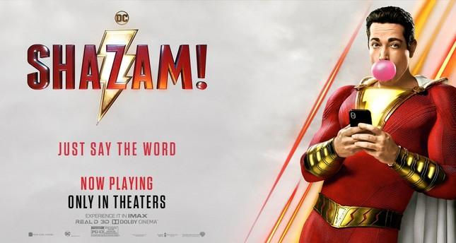 "Zachary Levi in ""Shazam!""."