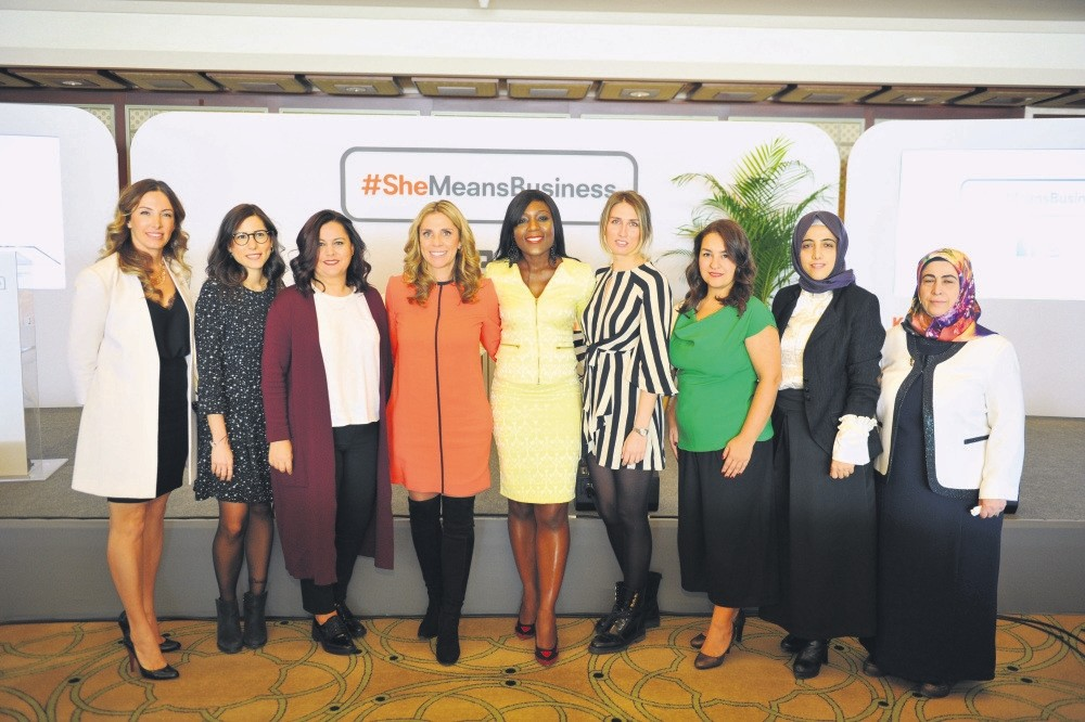 #SheMeansBusiness is a global project to inspire women entrepreneurs. As part of the initiative, more than 5,000 women entrepreneurs in Turkey will be trained throughout next year.