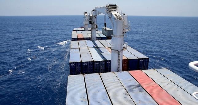 سفينة المساعدات التركية لغزة تصل ميناء أشدود البحري
