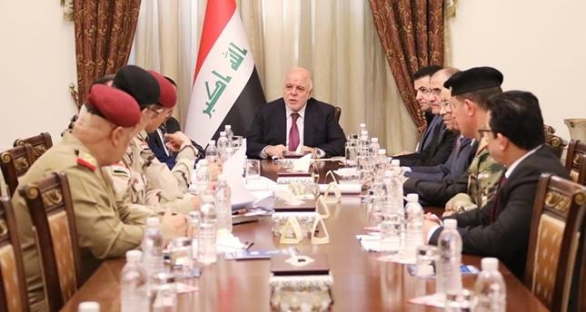 اجتماع  المجلس الوزاري للأمن الوطني برئاسة رئيس الوزراء حيدر العبادي