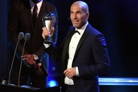 Real Madrid boss Zinedine Zidane was named the 2017 Best FIFA Men's Coach of the Year at a ceremony at the London Palladium theater on Monday after Real Madrid became the first team to defend its...
