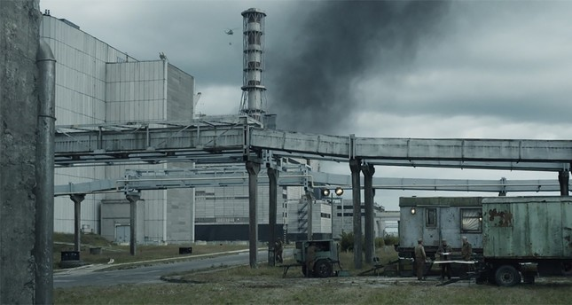 A still from HBO's mini-series about the 1986 nuclear disaster Chernobyl.