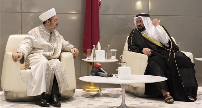 مباحثات تركية قطرية حول سبل تصحيح الصورة المشوهة للإسلام