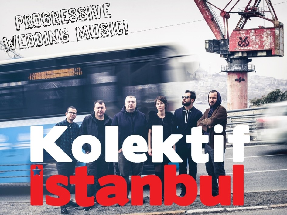 Kolektif Istanbul, which performs wedding and festival songs from Turkey and the Balkans, will kick off the concert series.