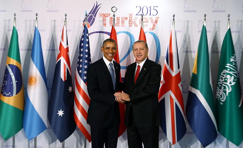 World leaders welcomed at the G20 Antalya Summit in Turkey