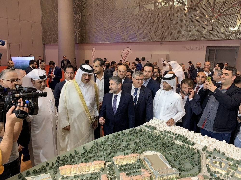 Turkish real estate projects received great interest from Qatari investors during the Turkey Expo by Qatar fair held in Doha between Jan. 16 and Jan. 18.