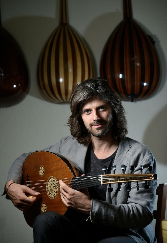 The oud is often associated with Arabic music, but Tristan Driessens was inspired to adopt Turkish style.