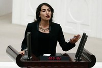 Turkish Parliament decided late Wednesday to strip a deputy from the pro-PKK Peoples' Democratic Party (HDP), Tuğba Hezer, of her deputyship over non-attendance.