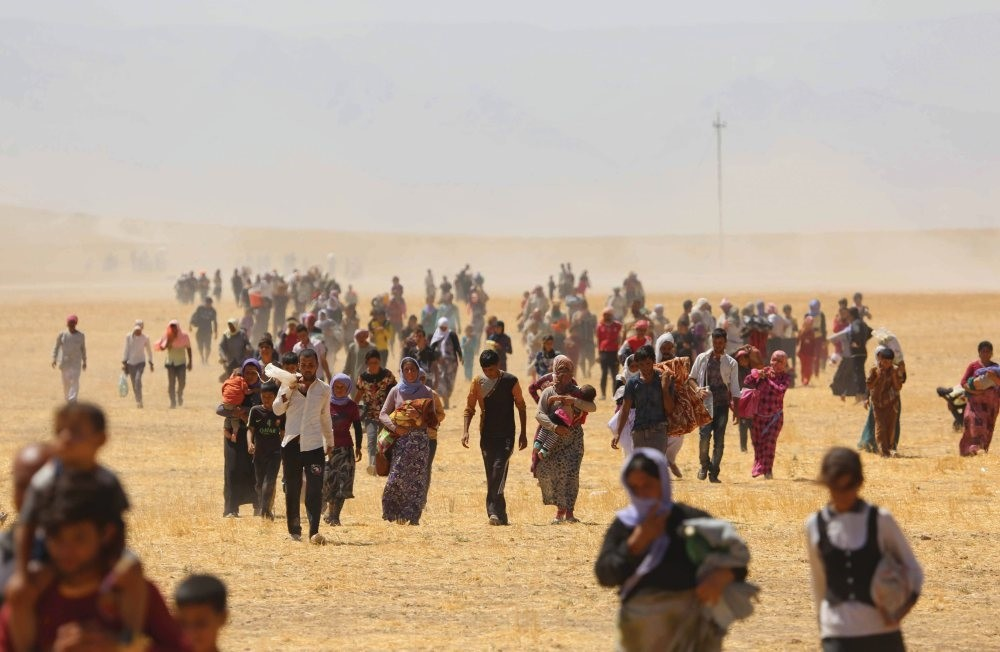 According to locals, 80 percent of Sinjar's Yazidi population left the city due to Daesh and PKK presence and are still afraid to return to their hometown.