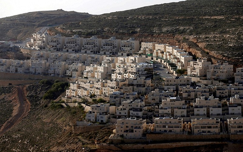 General view of houses of the Israeli settlement of Givat Ze'ev, in the occupied West Bank, Feb. 7, 2017. (Reuters Photo)