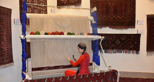 Turkmen rugs are among the national symbols of Turkmenistan, which use many colors and motifs with intricate weaves.