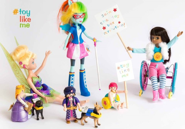 Dolls with disabilities inspire toymakers, hit stores