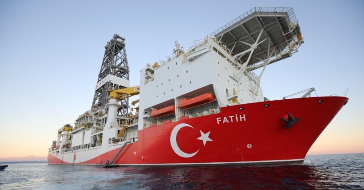 Turkey's second drillship Fatih. (AA File Photo)