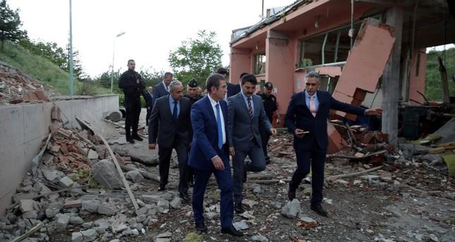 1 killed, 4 injured in explosion at gunpowder factory in Turkey's capital Ankara