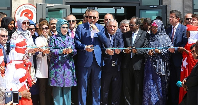 President Erdoğan in Somalia opens world's largest Turkish embassy, other projects