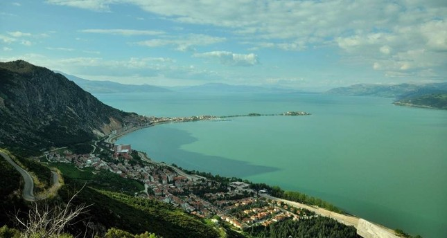The town of E?irdir is located next to its namesake lake. iStock