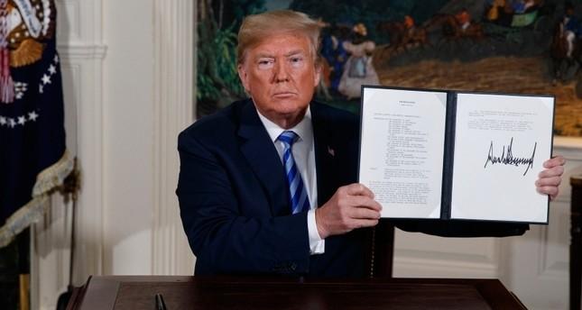 ترامب يعلن عقوبات جديدة ضد صناعات التعدين والصلب في إيران