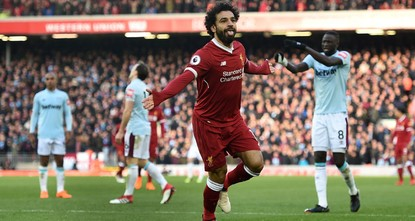 pJurgen Klopp described a near perfect Liverpool performance as a joy to watch as Mohamed Salah scored for the sixth straight game in a 4-1 thrashing of West Ham at Anfield on...
